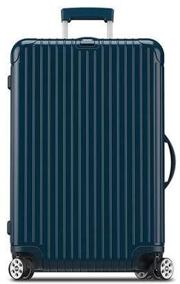 "Rimowa Salsa Deluxe Electronic Tag Yachting Blue 26"" Multiwheel Luggage"