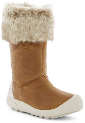 Keen Freemont Zip Waterproof Faux Fur Boot $180 thestylecure.com