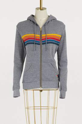 Aviator Nation Striped hoodie