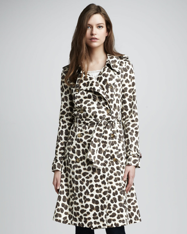 Alice by Temperley Felina Leopard-Print Trenchcoat