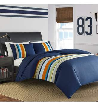 Nautica Heritage Sailing Stripe Comforter & Sham Set
