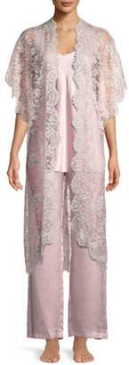 Christine Designs Beloved Floral Lace Robe
