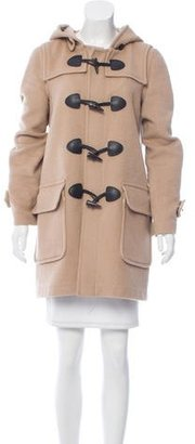 Burberry Brit Wool Duffle Coat $325 thestylecure.com