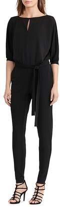 Lauren Ralph Lauren Keyhole Belted Jumpsuit $155 thestylecure.com