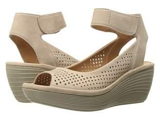 5910c76a889 Clarks Nubuck Upper Women s Sandals - ShopStyle