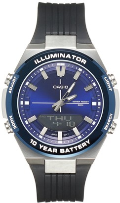Casio Men's Illuminator Stainless Steel Watch - AMW860-2AV