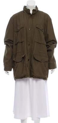 Vince Hooded Utility Coat