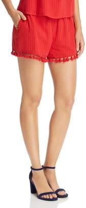 Aqua Tassel-Hem Shorts - 100% Exclusive