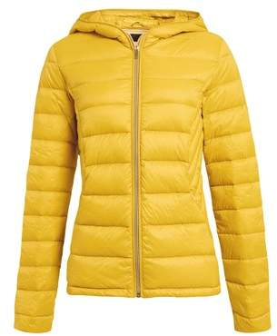 Next Womens Packaway Down Jacket Yellow 6R