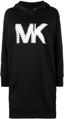 MICHAEL Michael Kors (マイケル マイケル コース) - Michael Michael Kors ロゴ フーデッド ドレス