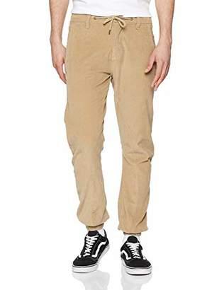 29f837a1 Urban Classic Men's Corduroy Jog Pants Trousers,W38