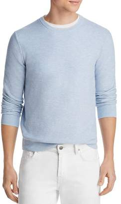 Bloomingdale's The Men's Store at Tipped Textured Crewneck Sweater - 100% Exclusive