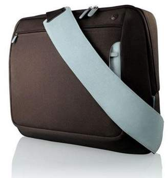 Belkin F8N051Earl Carrying Case (Messenger) For 43.2 Cm (17) Notebook - Chocolate, Tourmaline