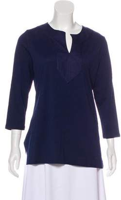 Lauren Ralph Lauren Long Sleeve V-Neck Tunic w/ Tags