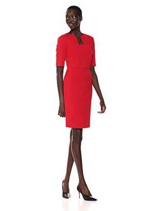 Trina Turk Trina Women's Scotch Elbow Sleeve Shift Dress