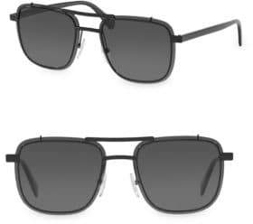 Prada Gray Aviator Sunglasses