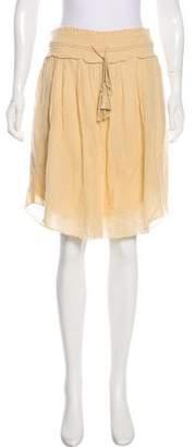 Etoile Isabel Marant Crepe Knee-Length Skirt