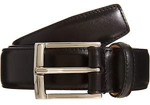 Crockett Jones Crockett & Jones Men's Smooth Leather Belt - Black