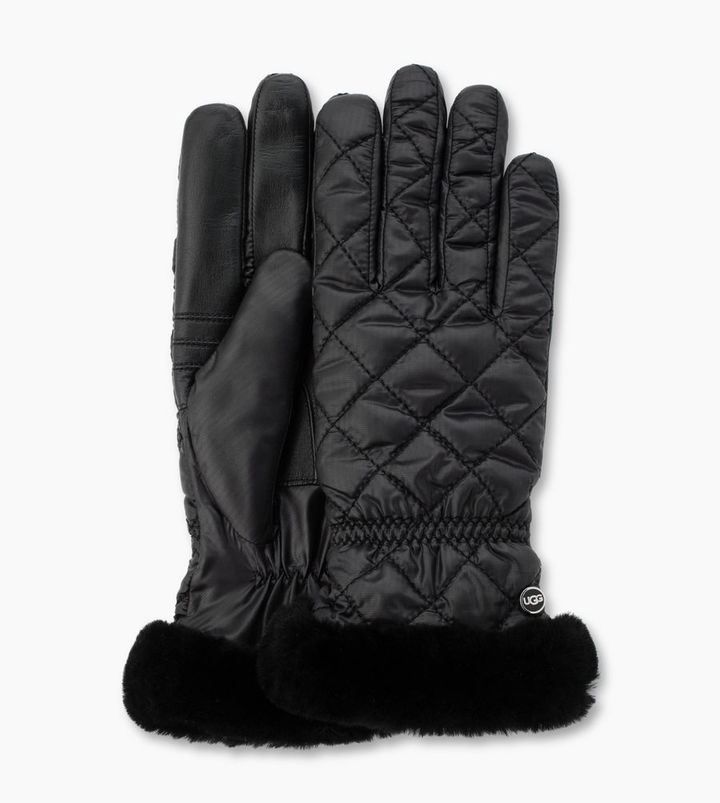 UGG Women's Quilted Fabric Smart Glove
