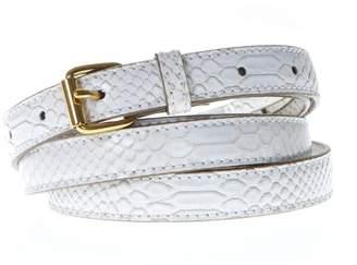 Stella McCartney White Belt In Faux Leather