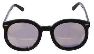 bd09ca21cb5 Karen Walker Mirrored Sunglasses - ShopStyle