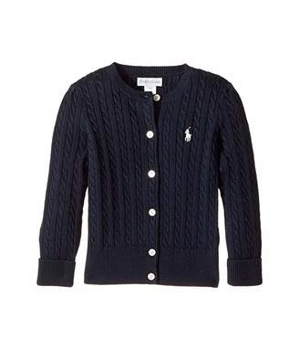 Ralph Lauren Baby Mini Cable Sweater (Infant)