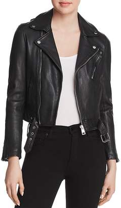 Maje Bostep Leather Jacket - 100% Exclusive