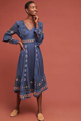 Love Sam Manette Embroidered Dress