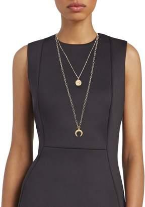 Panacea Goldtone Pendant Necklace
