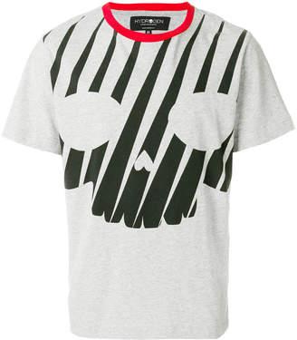 Hydrogen スカルプリント Tシャツ