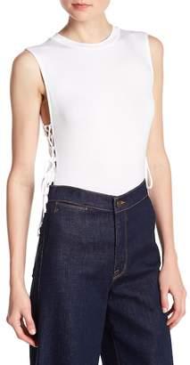 Lush Self-Tie Crisscross Side Bodysuit