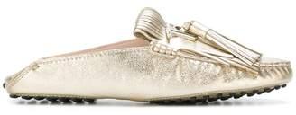 Tod's slip-on tassel loafers