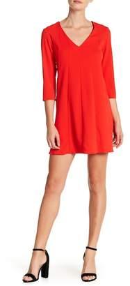 Amanda Uprichard Chase V-Neck Dress