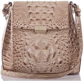 Brahmin Margo Croc Embossed Leather Crossbody Bag