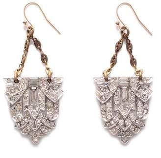 Lulu Frost Vintage Art Deco Carew Earrings
