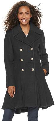 Blend of America Lnr Fashion Styles Women's LNR Fashion Styles Fit & Flare Wool Coat