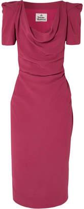 Vivienne Westwood - Virginia Draped Crepe Dress - Pink