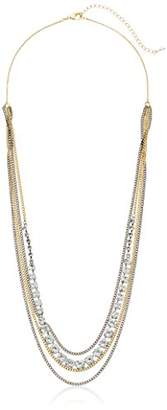 Sorrelli Lisa Oswald Collection Layer It On Multi-Strand Necklace