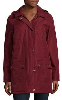 Barbour Whirl Solid Hooded Jacket