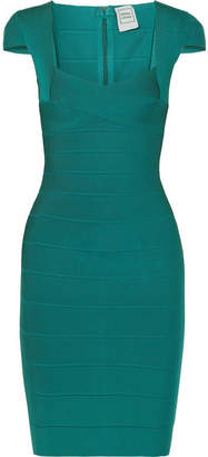 Herve Leger Bandage Mini Dress - Emerald