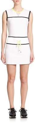 Monreal London Women's Sleeveless Mesh-Detail Mini Dress