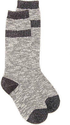 Mix No. 6 Lurex Stripe Crew Socks - Women's