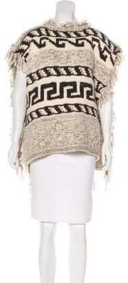 Etoile Isabel Marant Wool Knit Poncho