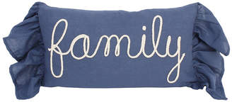 Co Jimco Lamp & Manufacturing Frema Family Rope Script Pillow