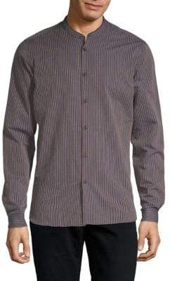 The Kooples Striped Button-Down Shirt