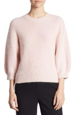 3.1 Phillip Lim Knitted Three-Quarter Sleeve Sweater