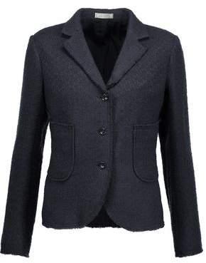Nina Ricci Iridescent Fringed Tweed Jacket