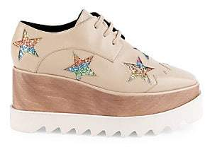 Stella McCartney Women's Elyse Star Platform Sneakers