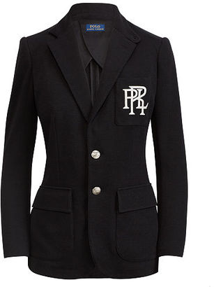 Polo Ralph Lauren Knit Cotton Blazer $265 thestylecure.com