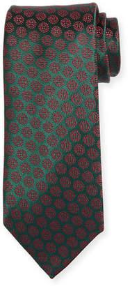 Charvet Circle Medallion Silk Tie